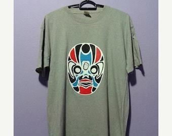 20% VTG SALES Vintage tilt theater japan mask tee shirt