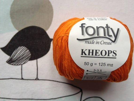 Orange - FONTY KHEOPS
