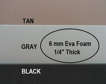 Eva Foam, 6mm Foam Insole Shoe Padding, Shoe Cushion, One Sheet 9 X 12, Shoe Making Supplies