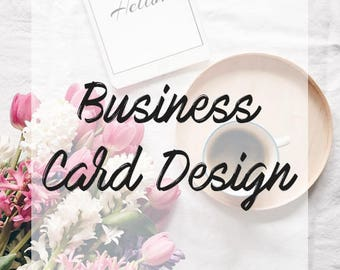 Business Card Design   READY MADE   Add your own details!
