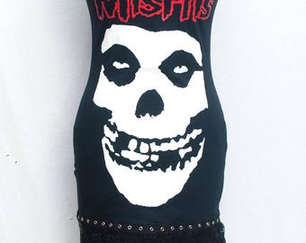 Misfits strappy tee dress