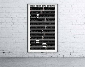 New York City Subway - 472 Stations