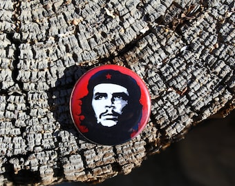 Che Guevara - Pinback or Magnet Button or Badge Reel
