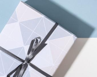 Beige Grid - 3 Sheets