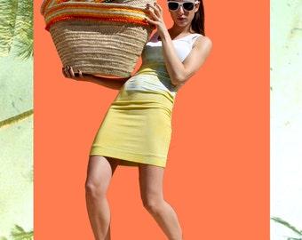 Beach Bag. Straw Bag with Pom Poms. Beach Tote. Pom Pom Beach Bag. Straw Beach Bag. Borsa Paglia. Beach Straw Tote. Free Shipping.