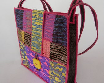 A Handbag from my latest collection of machine embroidered accessories