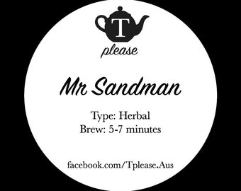 Mr Sandman loose leaf tea