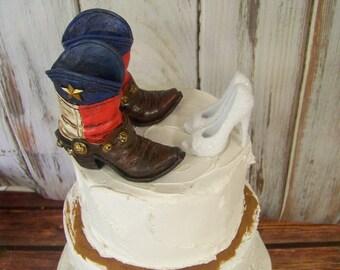Stiletto cake topper | Etsy