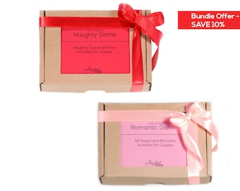 Naughty and Romantic Bundle, sex games, Mothers's day gift sale, adult  dating games