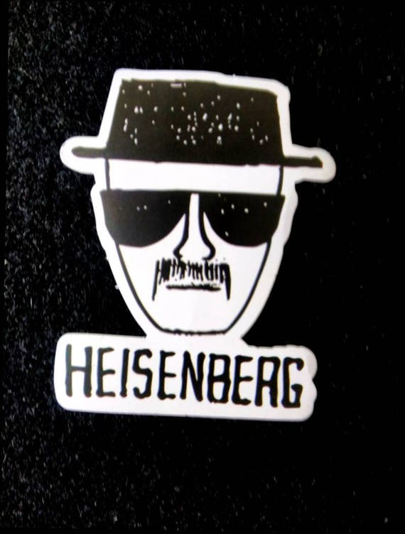 Breaking bad heisenberg sticker walter white jesse