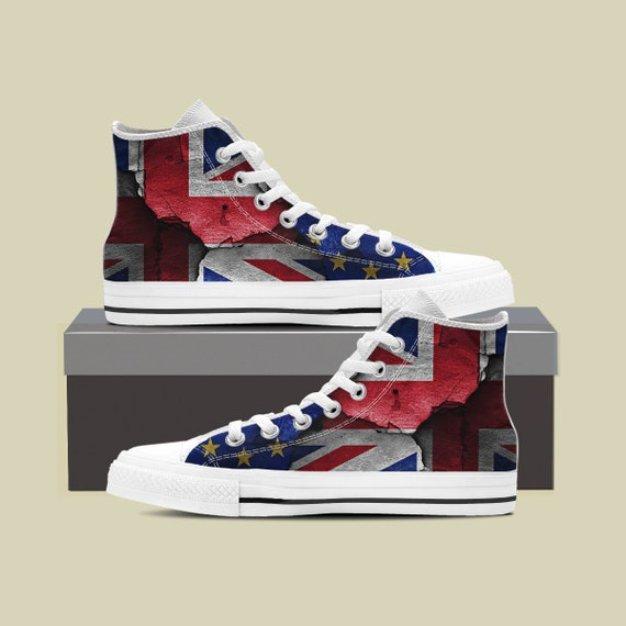 England Custom Flag British Custom Top Converse Flag Flag High Flag UK Flag Sneaker Shoes Shoes Converse England Flag England England fzPaqXTX