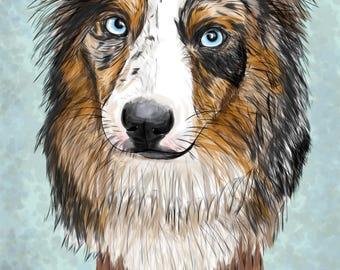 Custom Digital Painting of your pet!