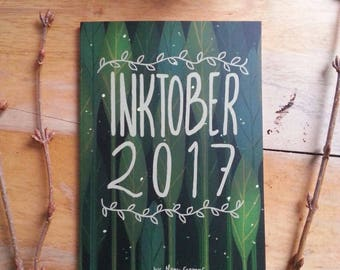 Inktober 2017 - Art book - Zine