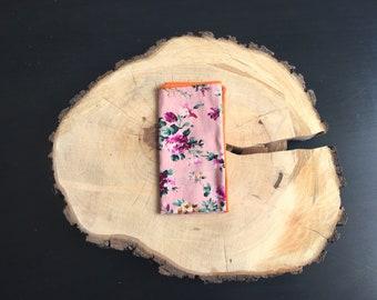 Floral pocket square | floral pocket square | floral handkerchief | floral pocket squares |  floral handkerchief
