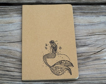 Mermaid Journal Notebook