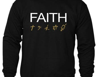 George Michael faith album sweatshirt