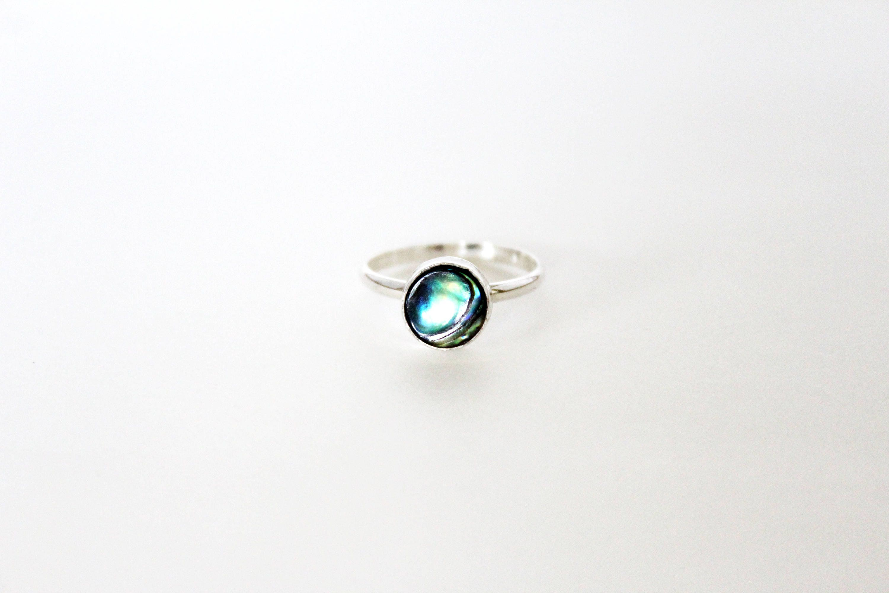 brana silver bark john sterling handmade ring s jewelry products engagement abalone johnsbrana rings band