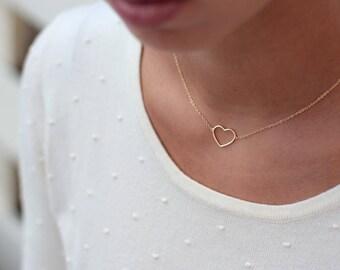 YUMMI HEART - Plata de Ley 925, necklace heart
