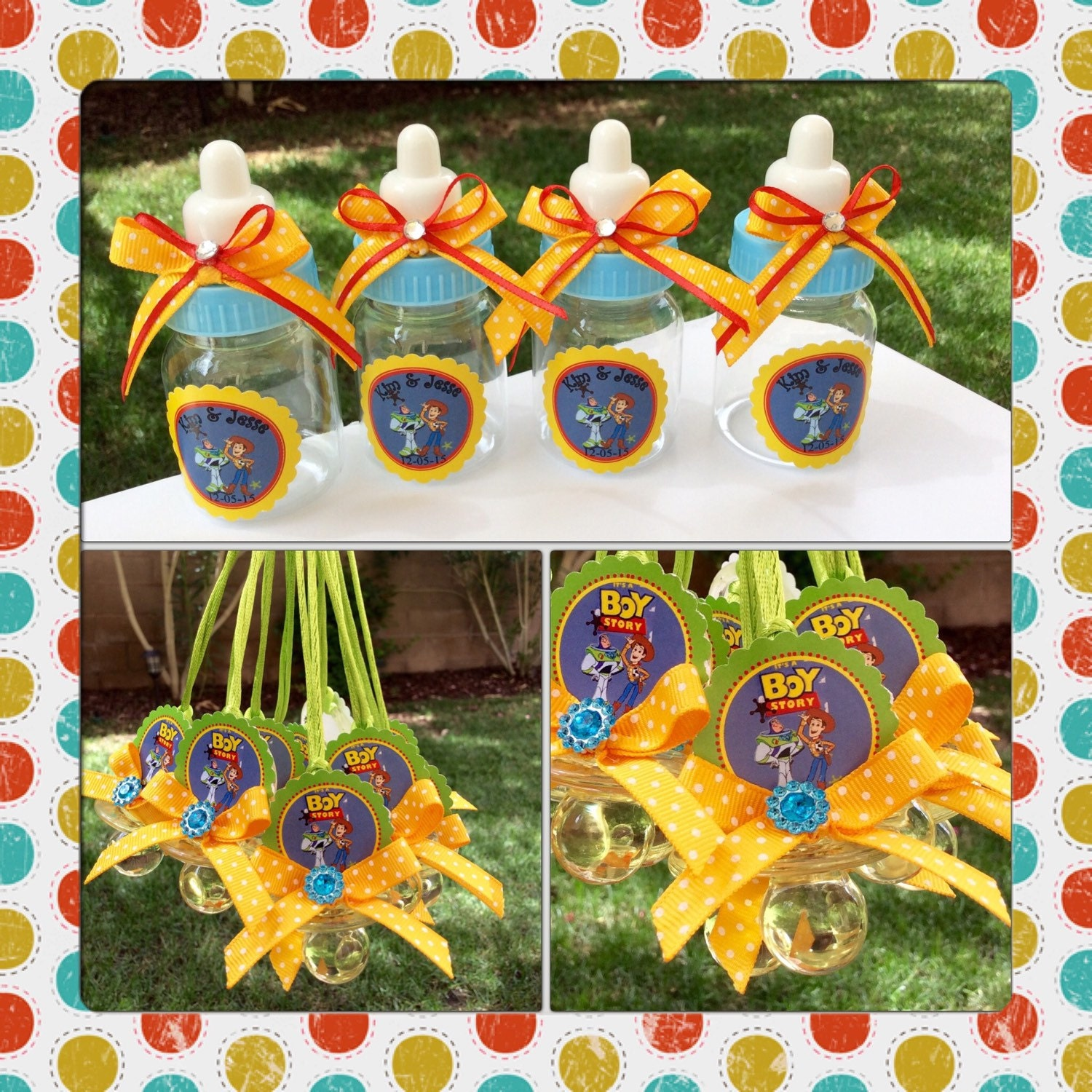 12 Disney toy story baby shower favors-toy story baby shower