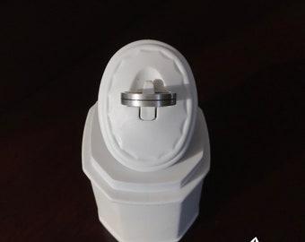 Beautiful ,simple, handmade silver ring