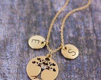 Tree-Of-Life Pendant | Family Tree Necklace | Tree-Of-Life Jewelry | Tree-Of-Life | Personalised Jewelry | Tree-Of-Life Meaning | Pendant |G
