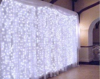 3M x 3M 300 LED  Light LED String Fairy Light Bulb Curtain Decor