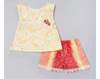 Carolina Kids Boutique Vintage Southern Charm Outfit 18m