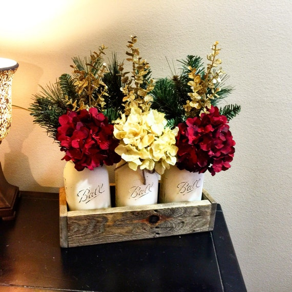 Mason Jar Christmas Decorations: Items Similar To Home & Living, Christmas Decoration