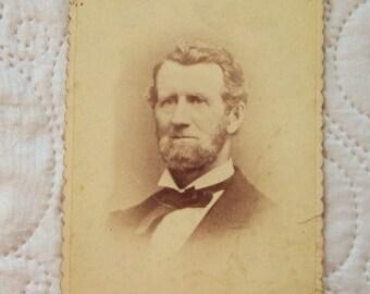 1800'S AMERICAN ,PHOTO, bearded men, sepia photos, antique photos