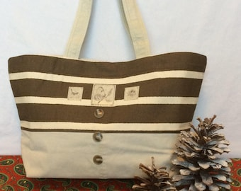 Birds and Butterflies Tote