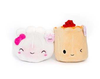 Set Of 2 Plushies - The Besties - Steamie and Suey - PLUSH100