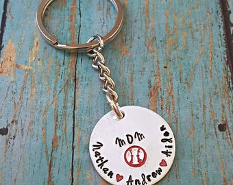 Baseball Mom Keychain - Baseball - Baseball Mommy - Baseball Lover - Gift for Her - Baseball Life - Baseball Mom - Baseball Fan