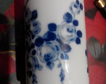 Vase vintage cobalt Wallendorf
