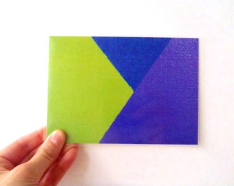 Postal Card - Artistic Perspective 3, Geometry