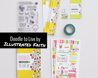 Doodle to live by- Illustrated Faith