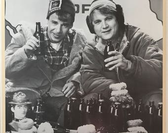Wall Art, Poster Art, Out Of Print Movie Poster, Strange Brew, Rick Moranis, Dave Thomas, Movie Poster 23 1/2 x 35 1/2