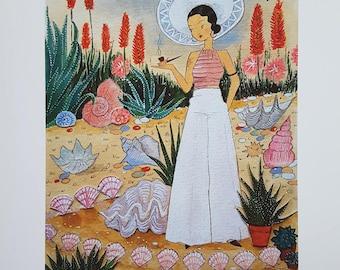 Shell Garden, A4 Art Print, Epson Matte...