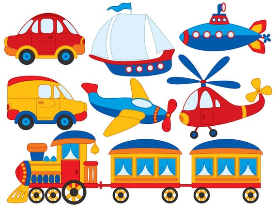Transport Clipart Vector Transport Clipart Boat Clipart