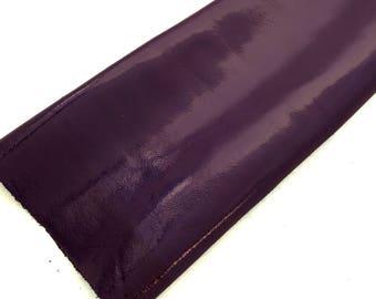 Purple Patent Leather / Purple Patent / Purple Leather / Patent Leather / Shiny Purple Leather  / Genuine Leather / Leather Supply / 20 x 24