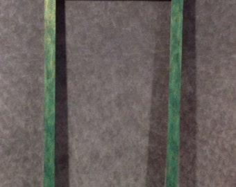 Large green frame