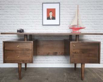 Clinton Desk - Mid Century Modern Inspired