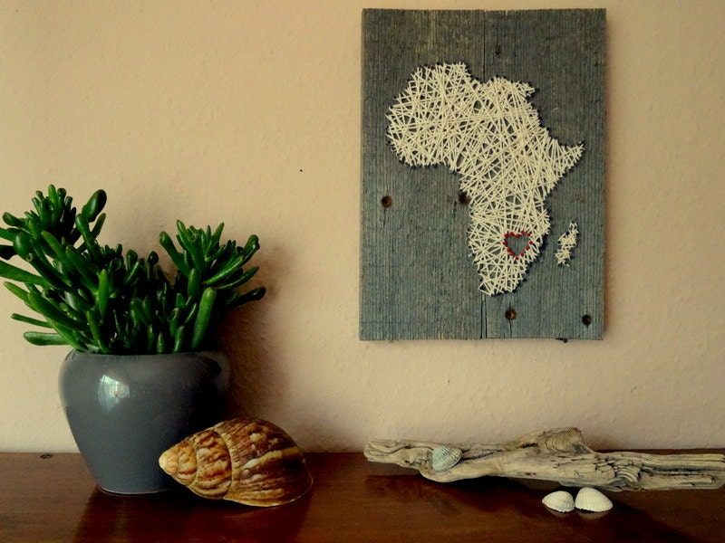 string art world maps and wall art made of wood by BeauGrandMonde