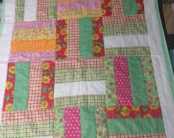Cool and cheerful quilt