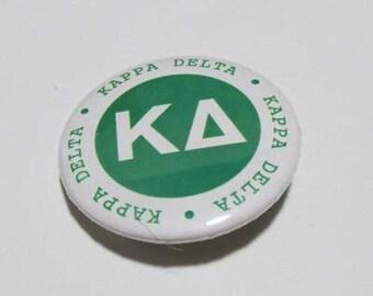 """Pins -- """" Kappa Delta"""" Round Pin"""