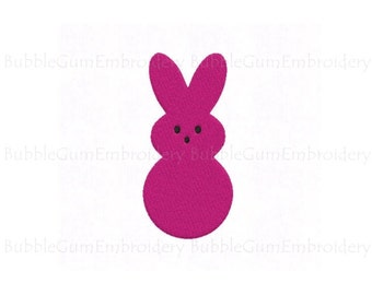 Bunny Embroidery Design Instant Download