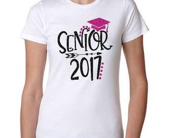 Class of 2017 Shirt, Graduation Shirt, Graduation Tshirt, Class of 2017, Graduation, High School Graduation, College Graduation, 2017 Senior