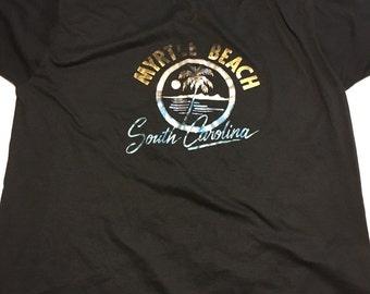 Awesome 80s Vintage Myrtle Beach South Carolina T Shirt