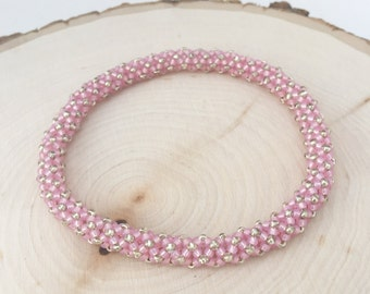 Pretty in Pink Maggie Bracelet