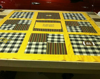 King size memory quilt