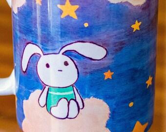 Dreaming Bunnies Wraparound Mug